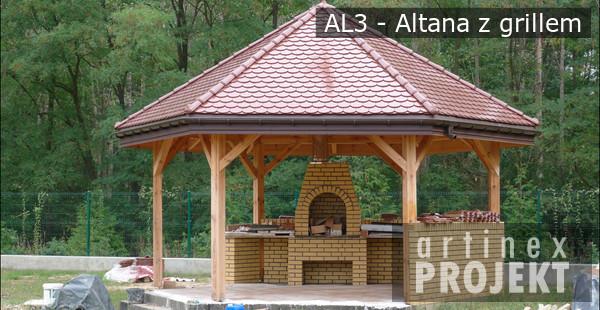 Projekty Altan Altana Z Grillem Q Housepl